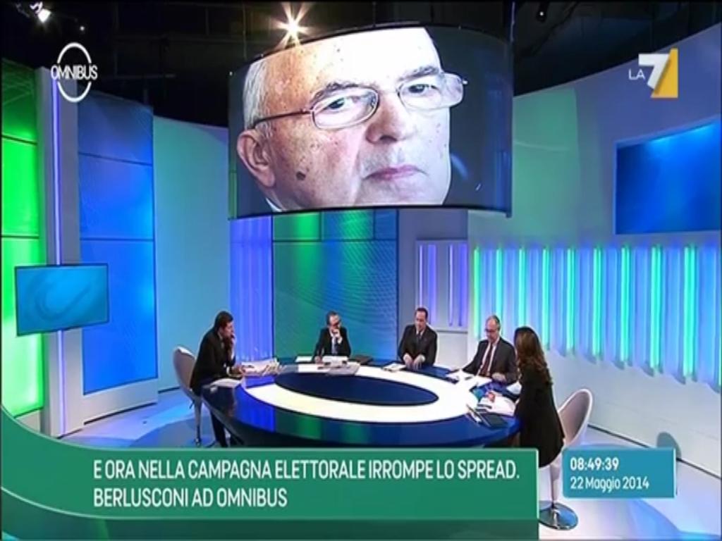 Berlusconi parla di Giorgio Napolitano e dell'anno 2011