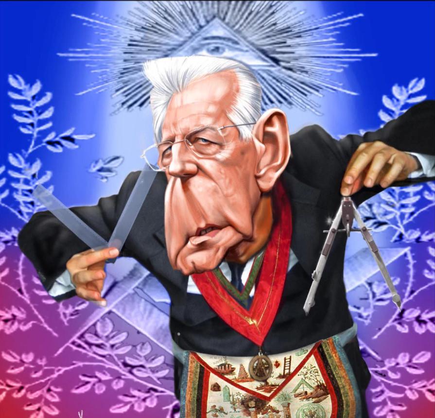 Nigel Farage parla di Mario Monti e le dimissioni di Silvio Berlusconi